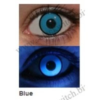 UV lenzen Blauw