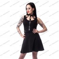 Hilda-jurk dames zwart